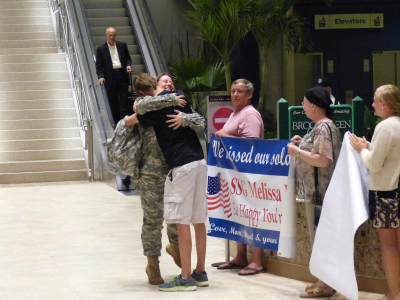 SSGT Melissa Dion Returns from Korea