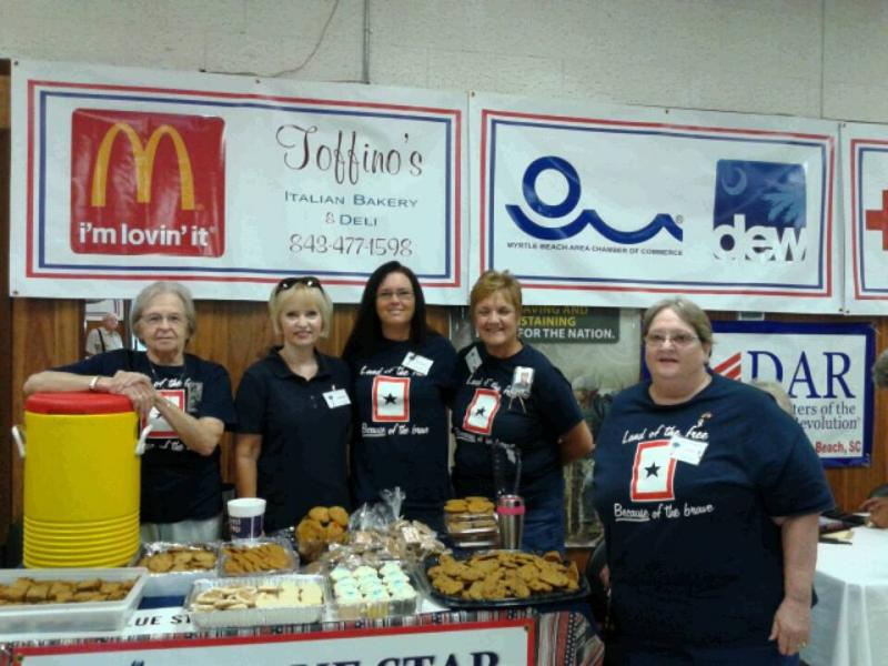 Blue Star Mothers helped with Operation Stand Down in Myrtle Beach