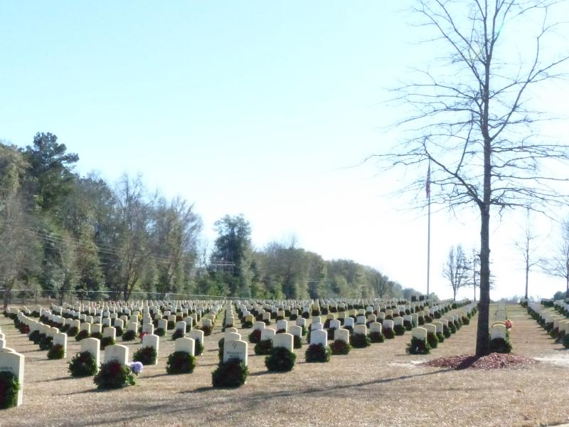 2014 Wreaths Across America at Florence National Cemetery