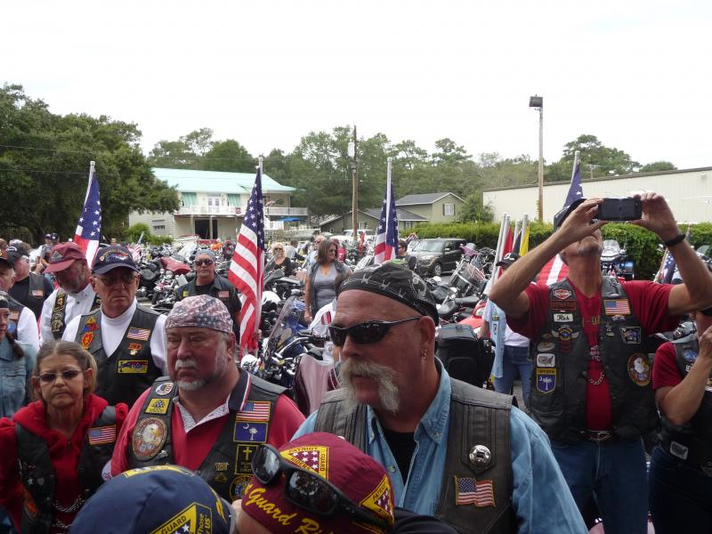 Memorial Service for PGR Ride Captain Bill Stewart